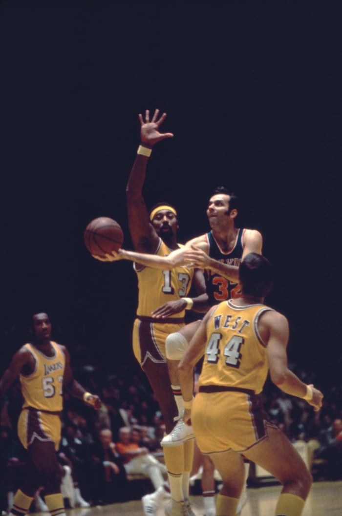 Wilt Chamberlain and Jerry West, Los Angeles Lakers