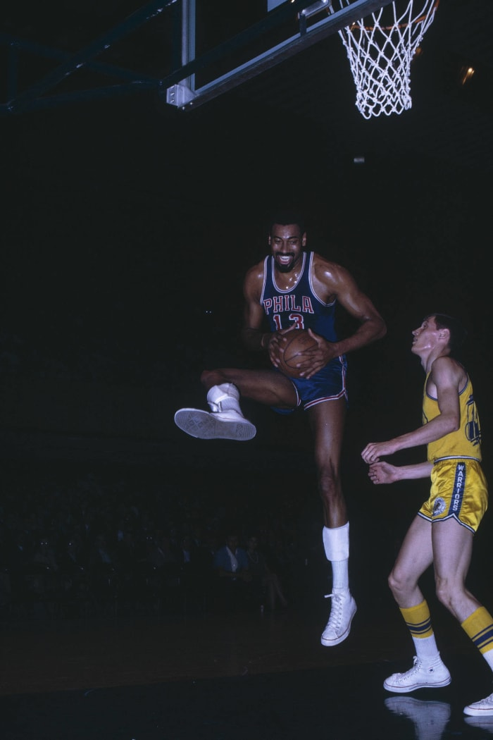 Wilt leads the league in assists just because, wins his fourth MVP