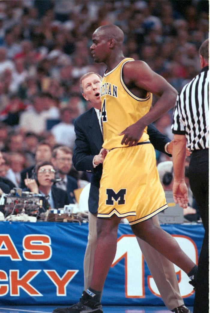 Time runs out on Webber, Wolverines (1993)