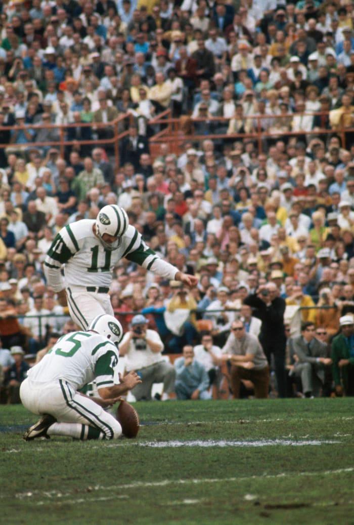 Field goals made: Jim Turner, 1968