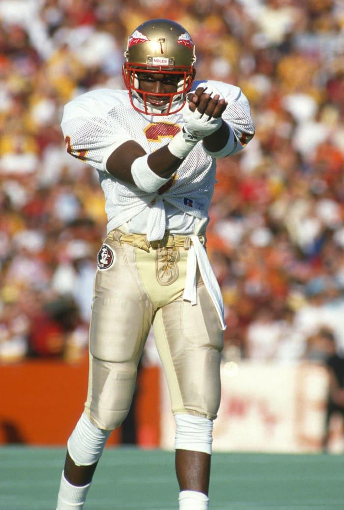 A three-sport star at Florida State