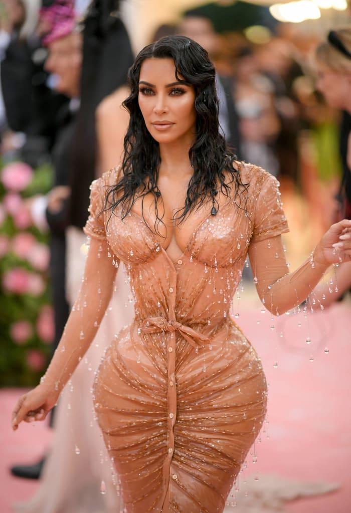2019: Kim Kardashian at the Met Gala