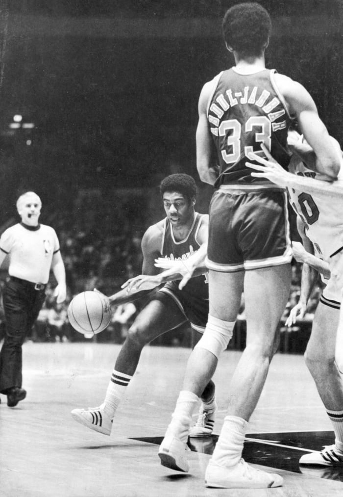 Kareem Abdul-Jabbar and Oscar Robertson, Milwaukee Bucks