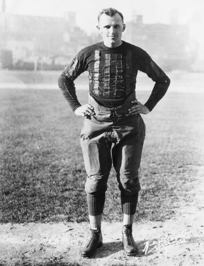 1921: All-Americans at Staleys, Week 11
