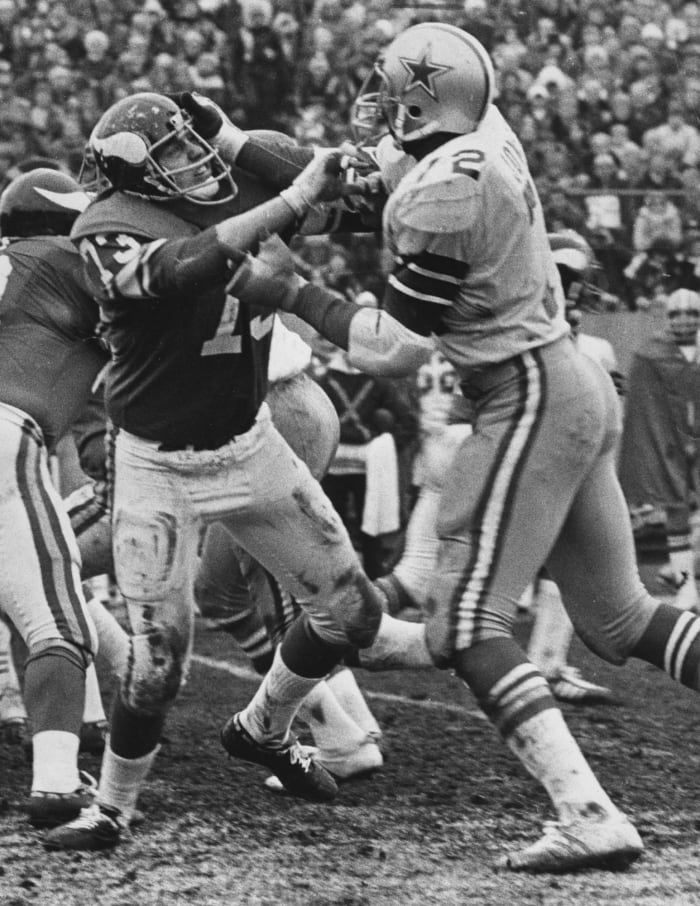 1975: Cowboys at Vikings, NFC divisional playoff