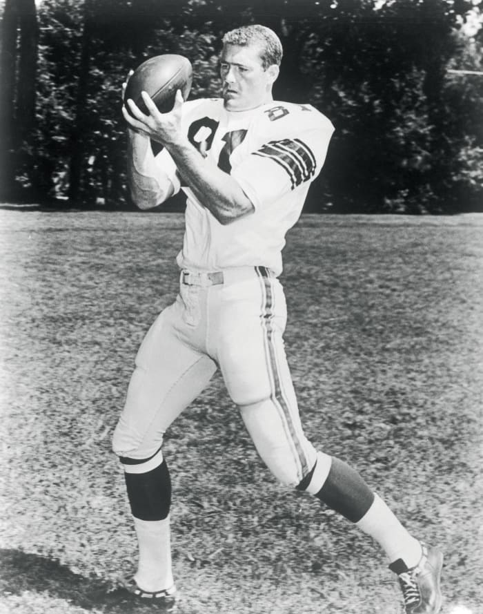 Receiving yards by a tight end: Jackie Smith, 1967