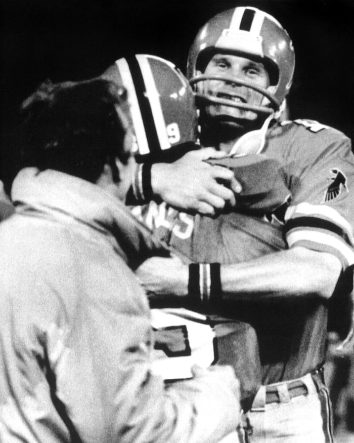 Eagles at Falcons, 1978 NFC wild-card game