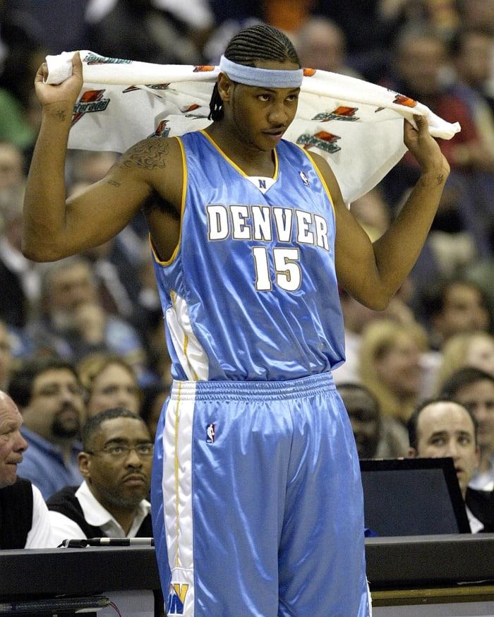 Denver Nuggets - Carmelo Anthony (3)