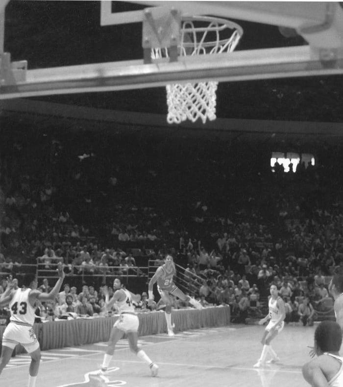 Arkansas' half-court hero (1981)