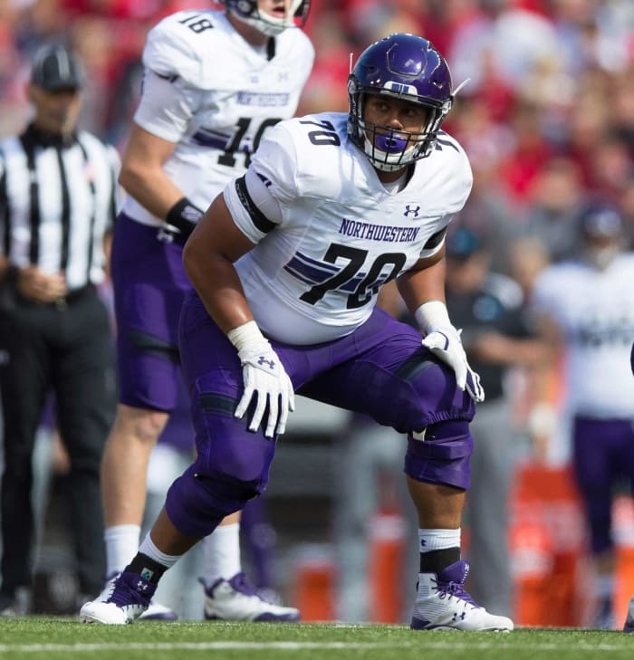 Los Angeles Chargers: Rashawn Slater, OT, Northwestern