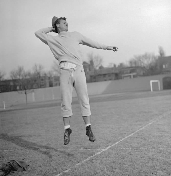 1950: Norm Van Brocklin, QB, Los Angeles Rams