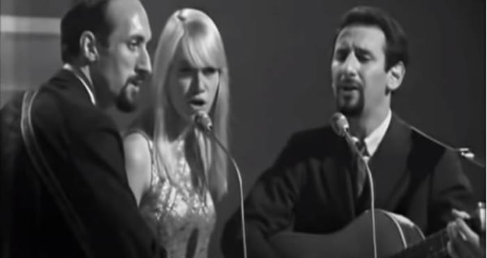 """Blowin' in the Wind,"" Peter, Paul and Mary (1963)"