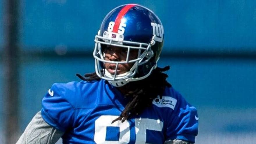 Giants to cut former first-round pick Kelvin Benjamin