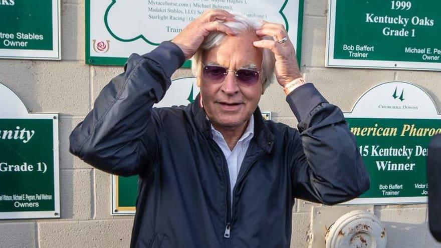 Gamblers file class-action lawsuit against Baffert