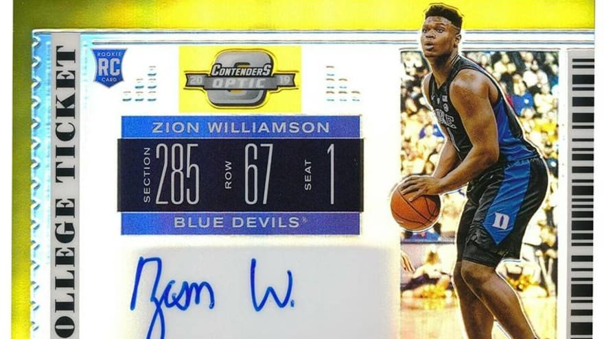 A rookie card for $21,999? Zion Williamson driving 'insane' market