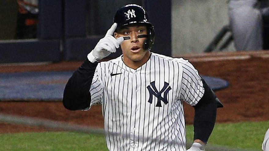 Aaron Judge out Wednesday with oblique soreness
