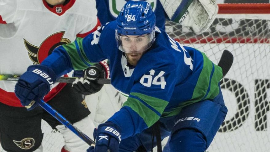 Canucks' Tyler Motte recovering from undisclosed surgery