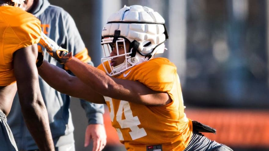 Tennessee LB suspended indefinitely for alleged kitten abuse