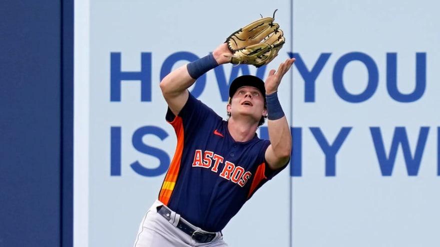 Astros select promising prospect Jake Meyers