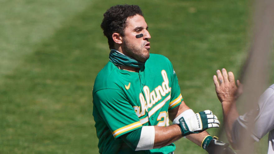 A's Ramon Laureano has suspension reduced to four games