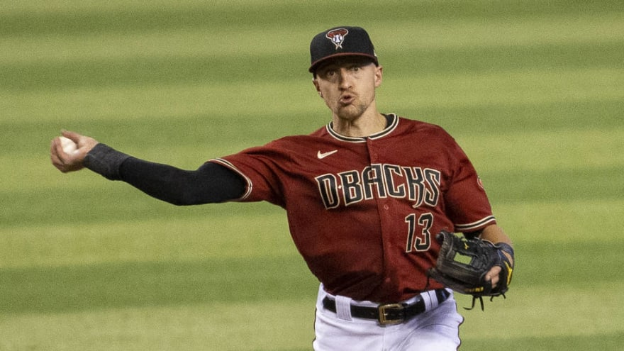 D'backs could put Nick Ahmed on IL, promote Geraldo Perdomo