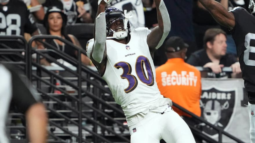Ravens CB Chris Westry to miss at least a month