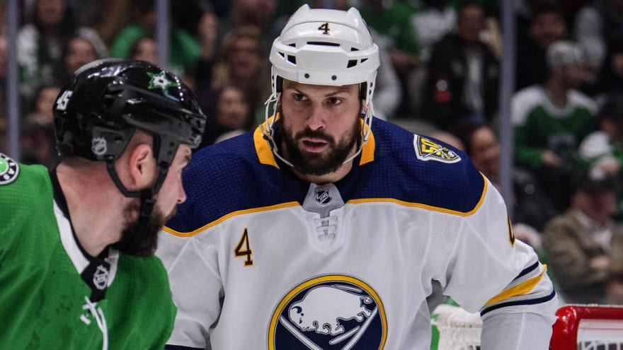 Sabres' Bogosian suspended indefinitely for not reporting to AHL