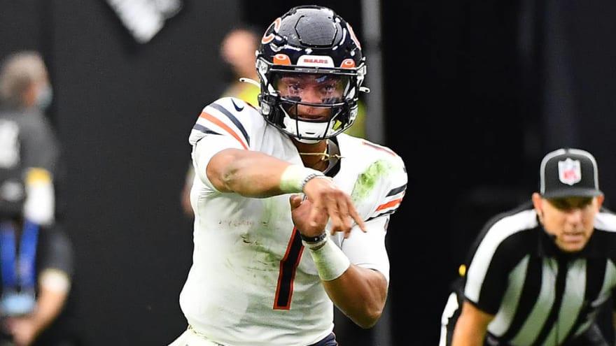 Bears QB Justin Fields 'good' to play vs. Packers