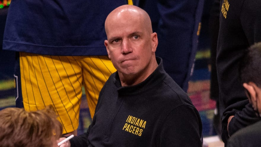 Pacers prez: 'It's my fault' Nate Bjorkgren didn't work out