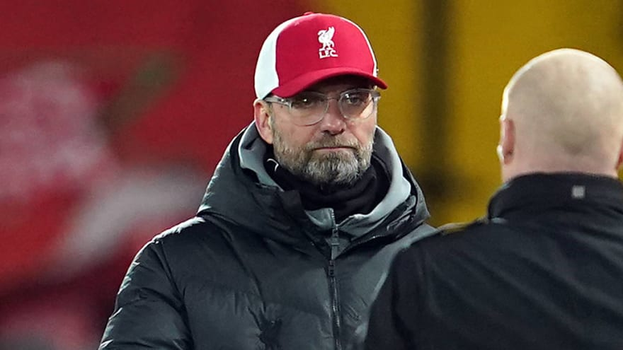 Liverpool's Klopp: Burnley loss a 'massive punch in the face'