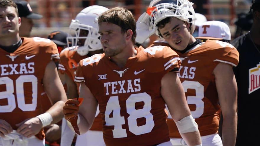 Texas LB Jake Ehlinger found dead off campus