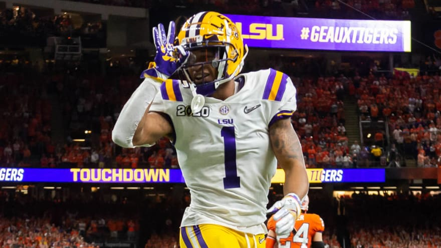 Bengals draft Ja'Marr Chase No. 5 overall