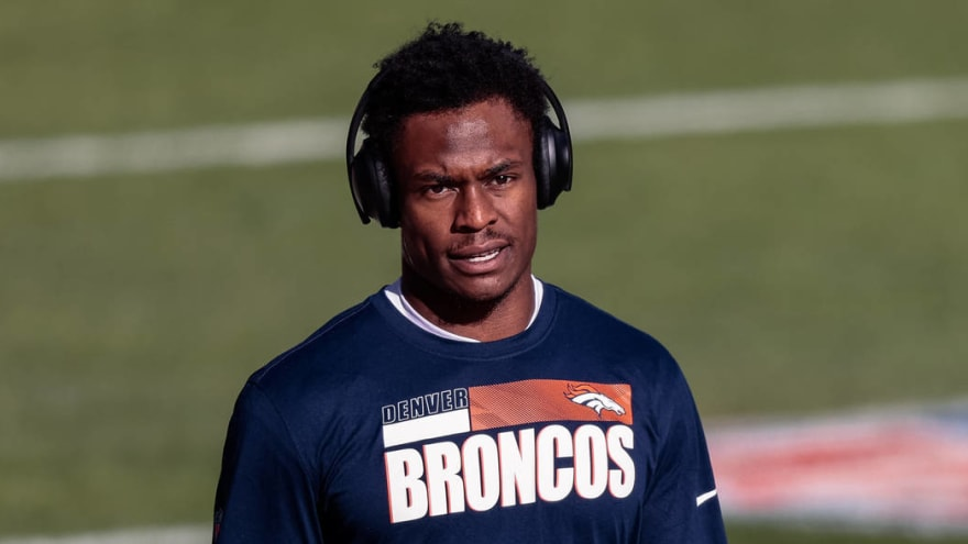 Broncos releasing WR DaeSean Hamilton after no trade emerges