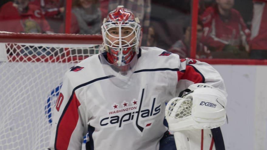 Capitals recall Ilya Samsonov, intend to start him