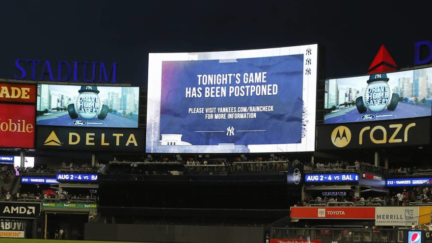 Yankees feared to have outbreak; game vs. Red Sox postponed