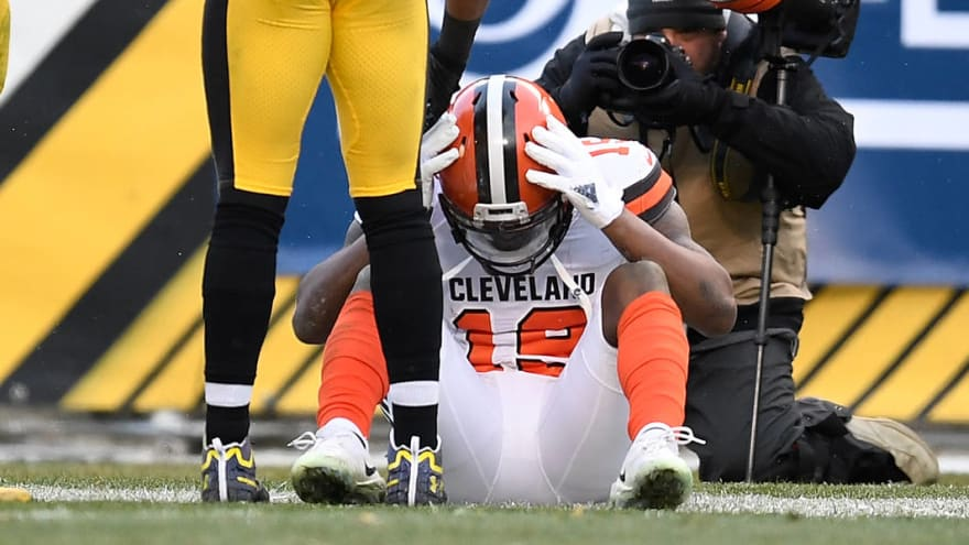 Awful Corey Coleman drop ensures Browns finish winless | Yardbarker