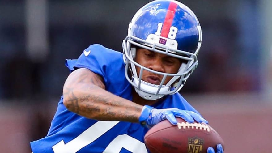Former Giants WR Travis Rudolph charged with murder