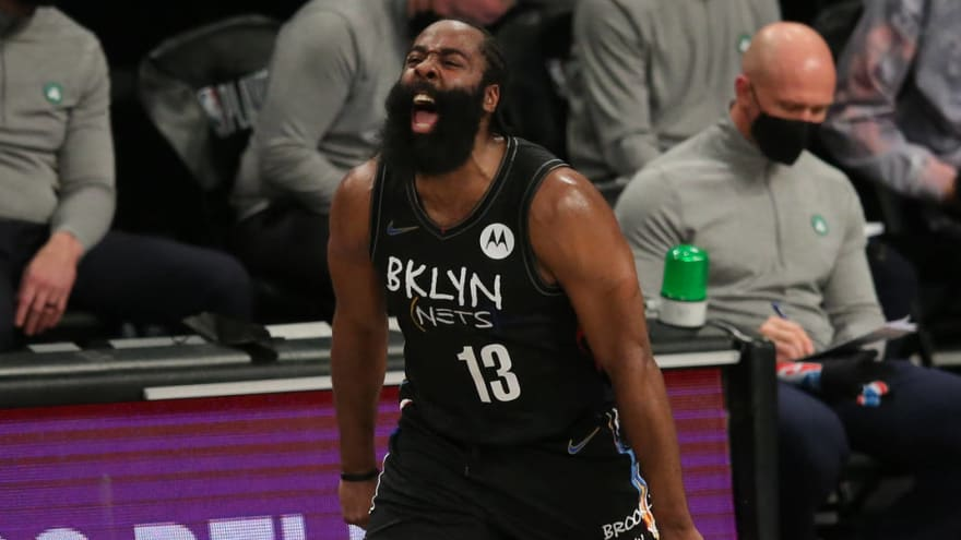 James Harden to miss Game 3 with hamstring tightness