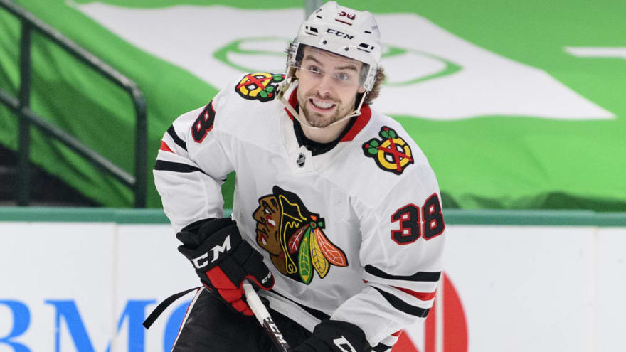 Blackhawks' Brandon Hagel placed in COVID protocol