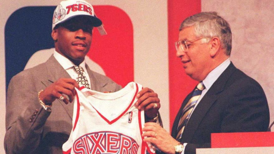 Looking back at the 1996 NBA Draft, 25 years later