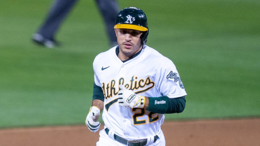 Ramon Laureano blows up on ump after bad call, gets ejected