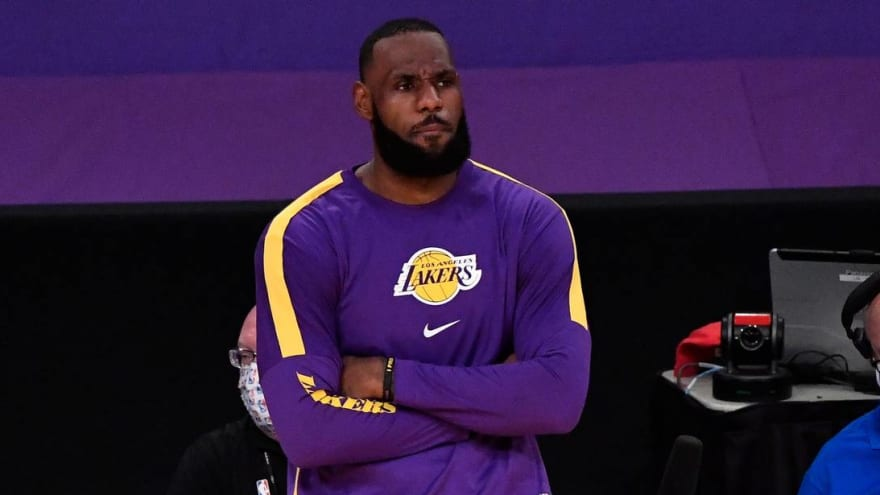 Lakers' LeBron James out Tuesday vs. Knicks to rest ankle