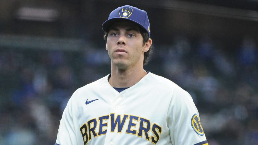 Brewers' Christian Yelich returns to IL with back strain