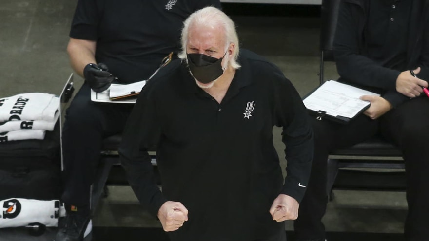 Popovich slams Texas governor for lifting mask mandate