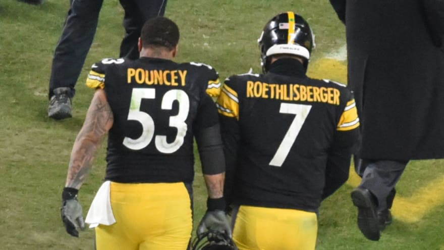 Ben Roethlisberger, Maurkice Pouncey emotional after Steelers loss