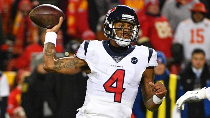 Texans exercise Deshaun Watson's fifth-year option