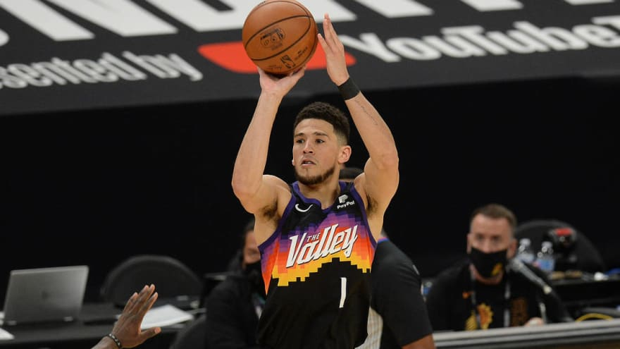 Devin Booker coming-out party has Phoenix Suns two wins from NBA title
