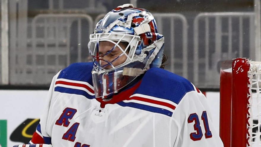 Rangers making progress on Igor Shesterkin contract