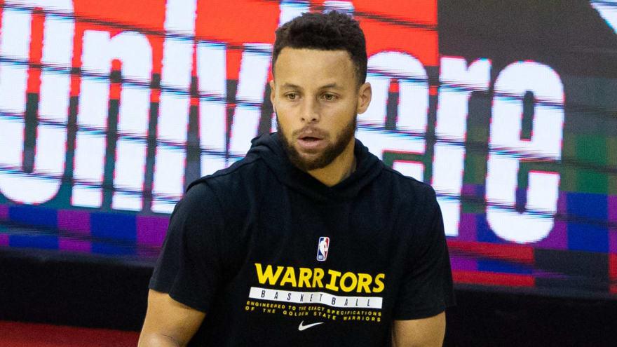 Steph Curry on whether he's NBA MVP: 'I gotta be'