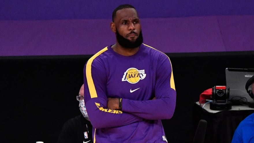LeBron James out Monday vs. Nuggets to rest ankle